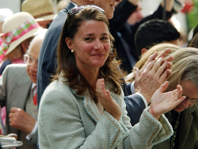 Melinda Gates Honored