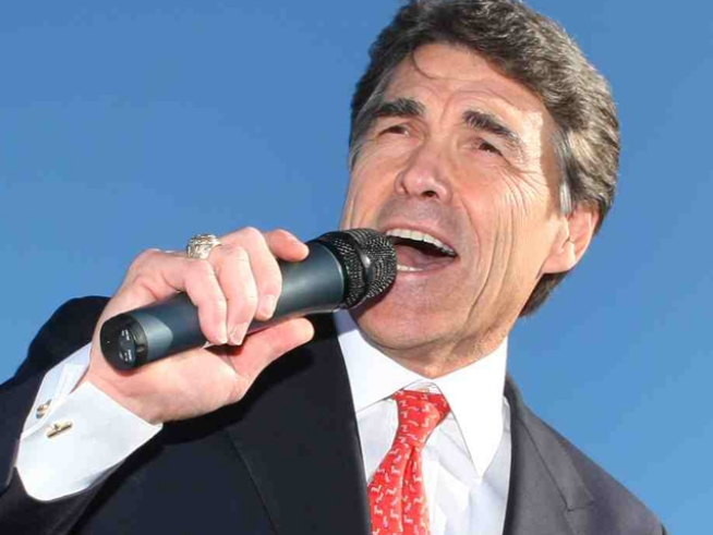 Perry Says Obama Has It Out for Texas