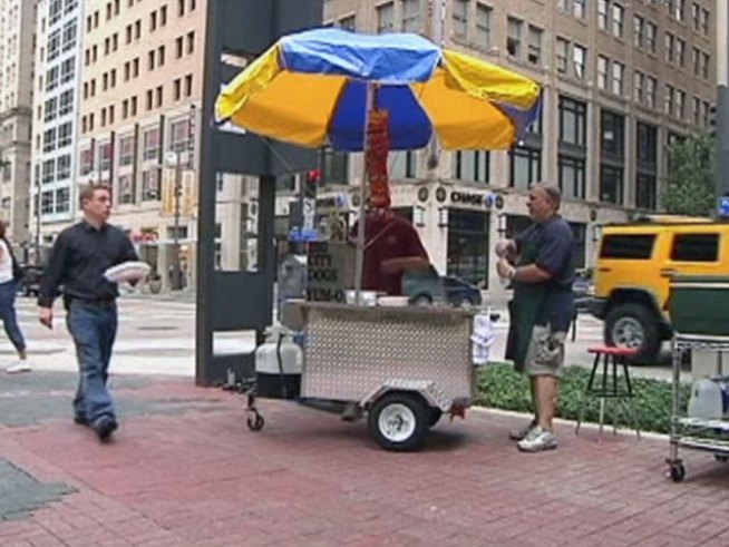 The Banker Turned Hot Dog Vendor