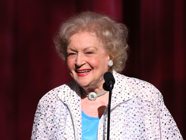 Betty White Accepts Lifetime Achievement Award At SAG Ceremony