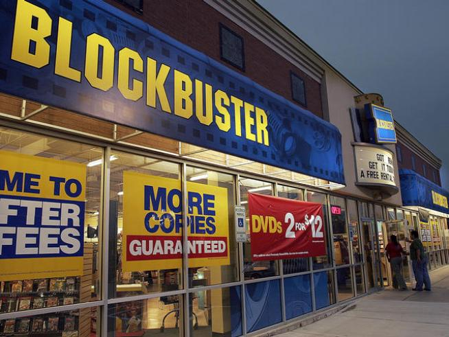 Blockbuster Busts Into On-Demand Device Market