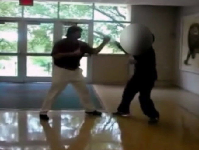 Boxing Video: Teacher vs. Student