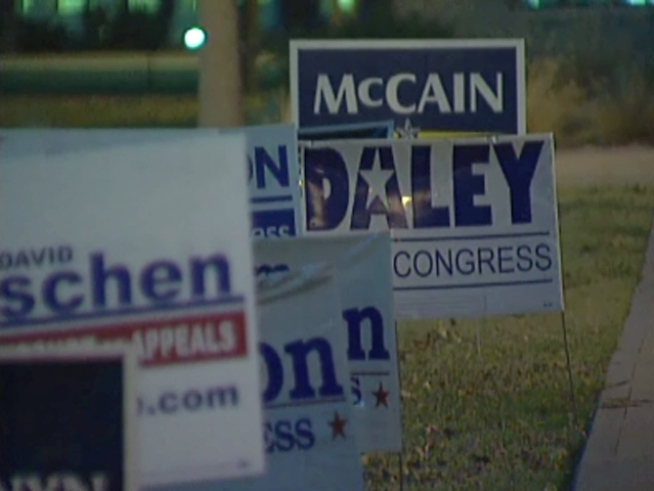 Even Campaign Signs Can Go Green