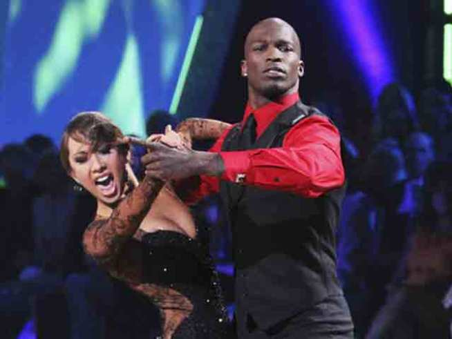 "NFL Star Chad Ochocinco Booted From ""Dancing"""