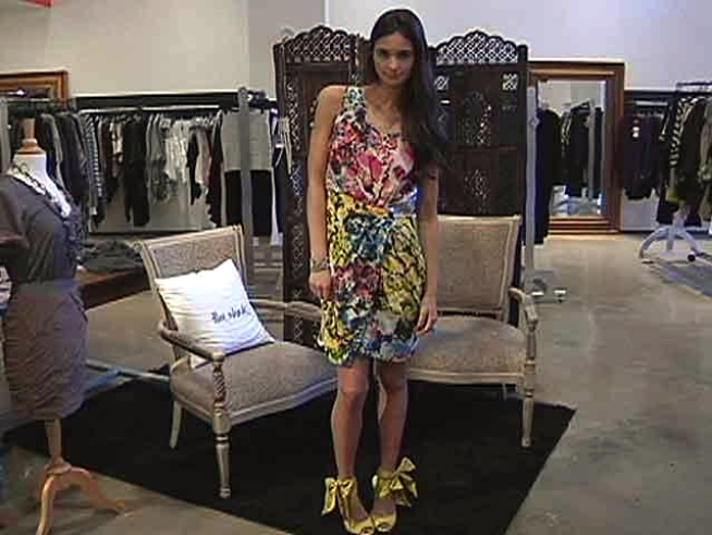 Small florals, large Ikat patterns, and electric abstract prints make an impact this Spring.