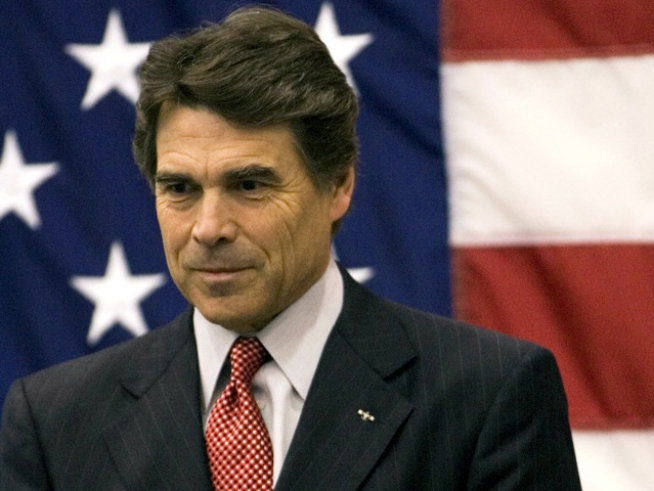 Perry Cracks Joke About Recession; Jobless Forget to Laugh