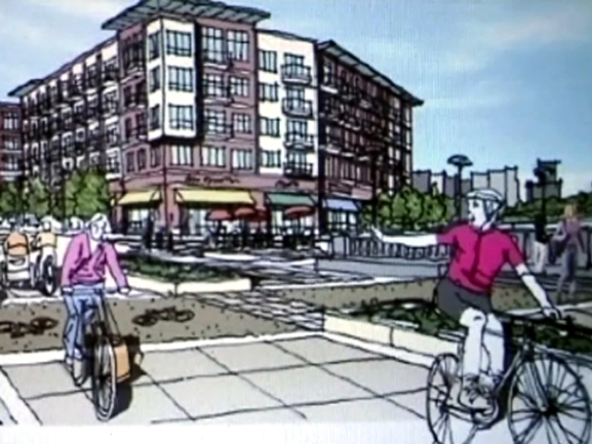 Plan for $54 Million Facelift for Riverfront Boulevard