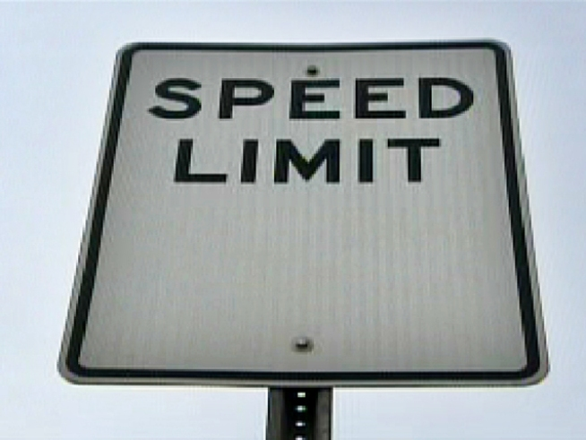 traffic faster than speed limit resist going