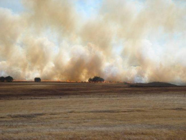 High Winds, Dry Conditions Fuel Texas Grass Fires