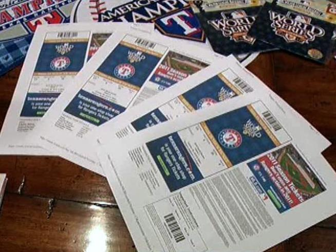 What would you do if you found four World Series tickets lying on the ground?