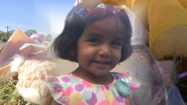 Indian-American child Sherin laid to rest