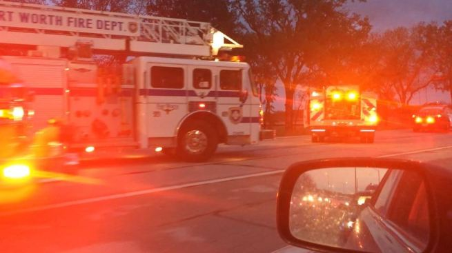 Man Crashes Near D/FW Airport, Has Heart Attack