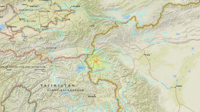 Strong Earthquake Shakes Remote Far-Western China