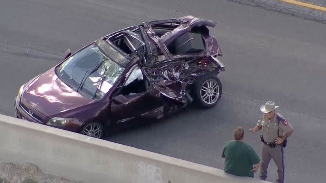 Major Crash Closes Northbound U.S. Highway 75 in Melissa