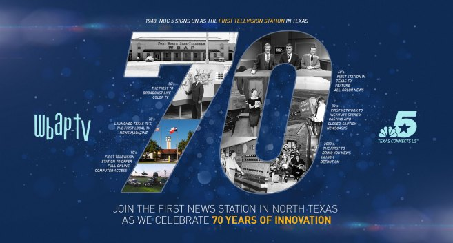 NBC 5 Celebrates 70 Years of Local Broadcasting