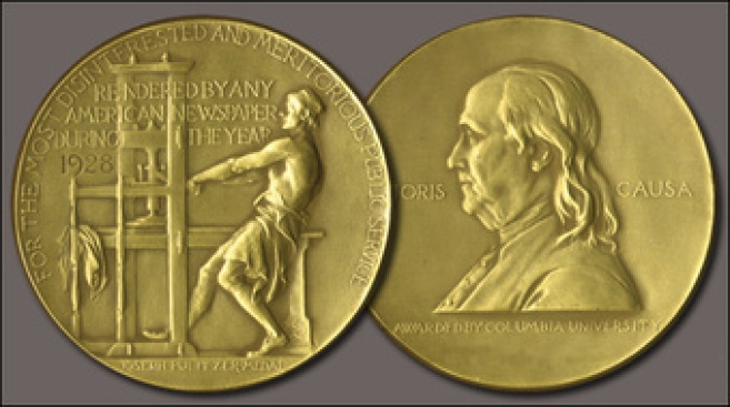 "2014 Pulitzer Prizes Announced: ""The Goldfinch"" Wins Fiction Prize, NSA Spying Coverage Wins Public Service Journalism Prizes"