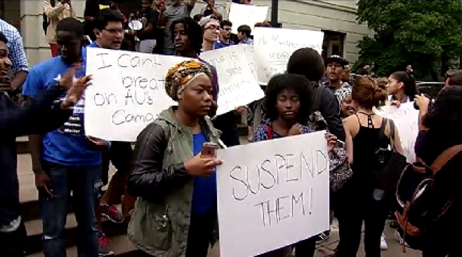 DC Students Protest 'Hate-Filled' Banana Incidents