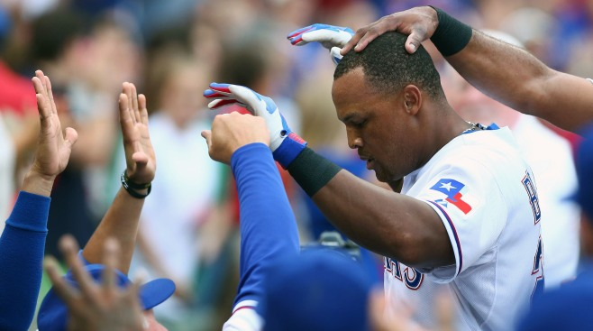 Adrian Beltre Again a Finalist for Hank Aaron Award