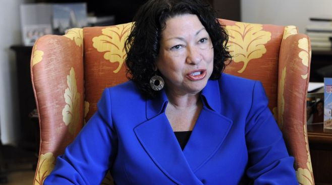 Under Pressure, Sotomayor Quits All-Women's Club