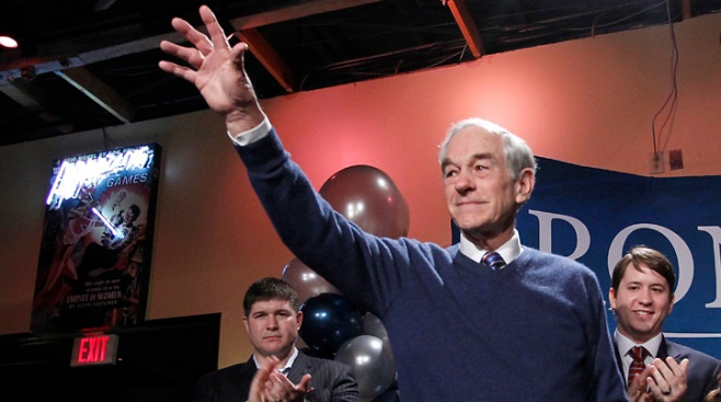 Ron Paul in Fort Worth Wednesday