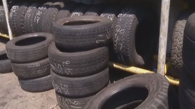 Dallas Cracking Down on Tires Left Outside