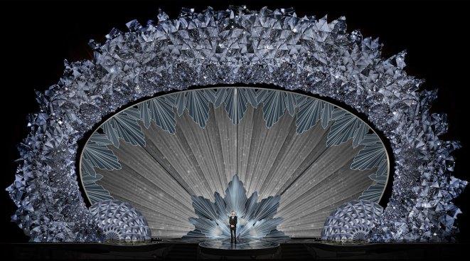 Sunday's Oscar Stage Features 45 Million Swarovski Crystals