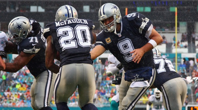 Romo Returns from Injury to Help Dallas Beat Miami 24-14