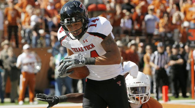 Tech Suspends WR Darrin Moore After DWI Arrest