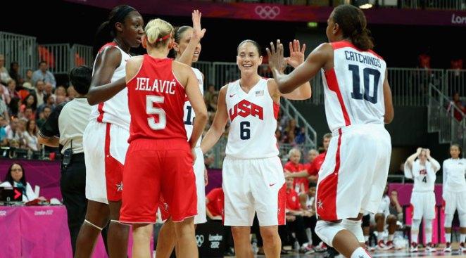 US Women Overcome Sloppy Play to Top Croatia