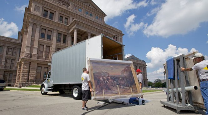 Iconic Painting Returns to Gov's Mansion