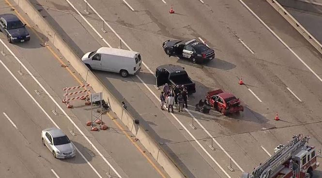 WB I-635 Reopen After Multi-Vehicle Crash in Garland