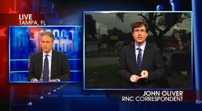 Stewart Mocks Tampa as Choice of RNC Venue