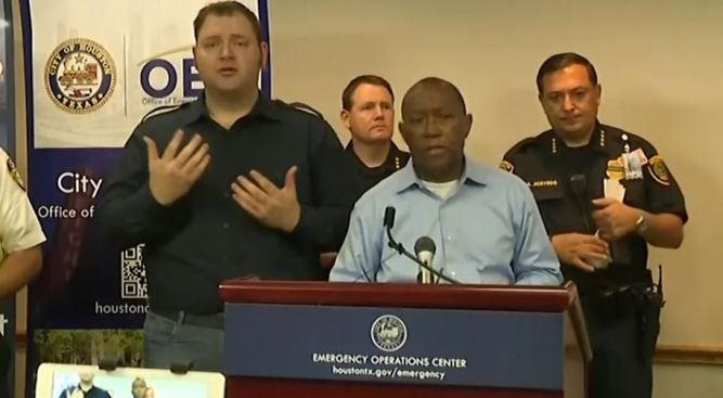 Houston Mayor Wants Tax Increase to Help With Harvey Costs