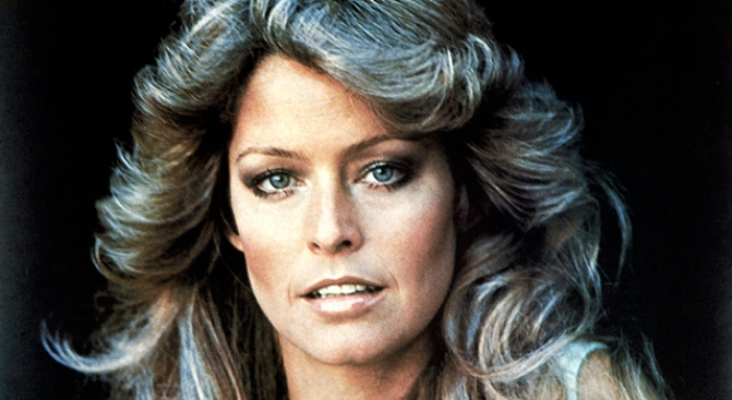 Farrah Fawcett Walks Out of LA Hospital