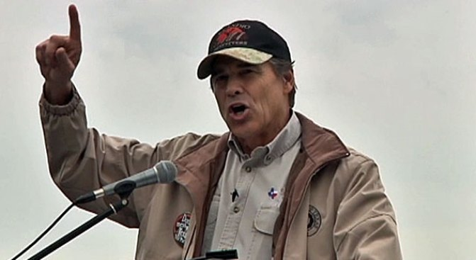 Dems Tell Perry to Knock Off Secession Talk