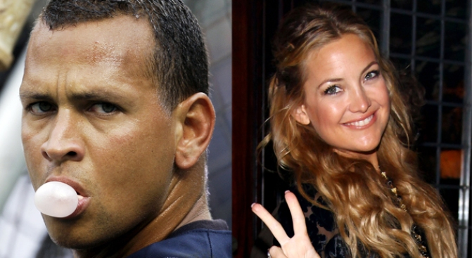 Celebrity Sighting: A-Rod and Kate Hudson