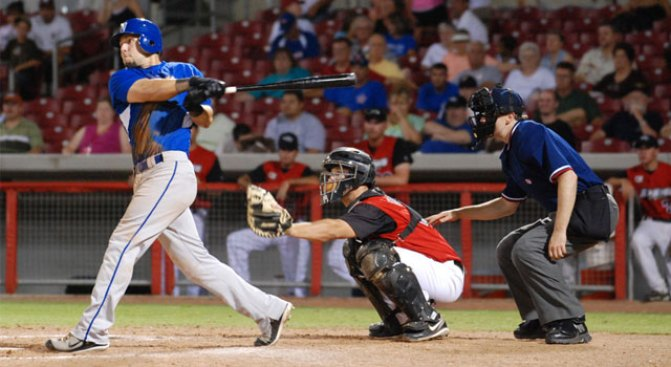 Bell Homer Lifts Cats in Ninth