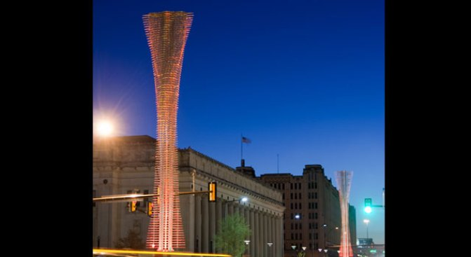 Avenue of Lights Could Brighten Downtown Fort Worth