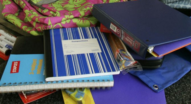 DISD, Reliant Energy Holding School Supply Charity Drive