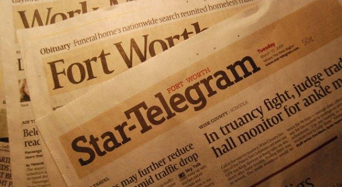 """Star-T Named """"Endangered"""" Newspaper"""