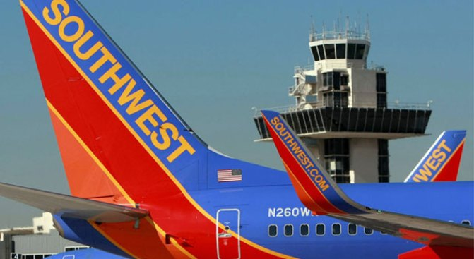 Traffic Surge Stops SWA Free Fall