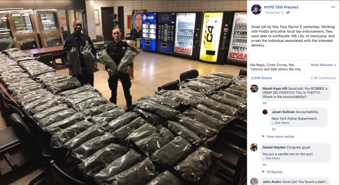 Man Arrested in NYC Marijuana-Hemp Mixup Case Likely Will Get Charges Dropped