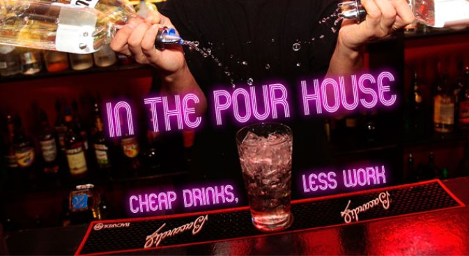 In the Pour House: 3/2-7