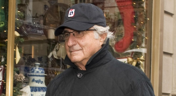 Friends Help Mr. Bernie Get Over Bernie Madoff