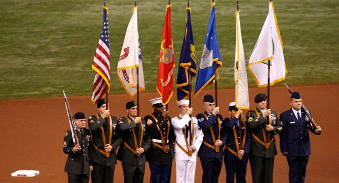 NFL Relents in Color Guard Flap