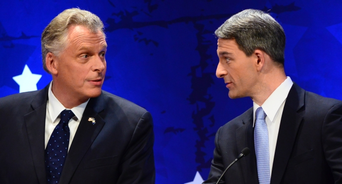 Democrat Has Double-Digit Lead in Race for Va. Gov.: Poll