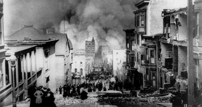 [NATL] Old Photos Show Earthquake That Shook San Francisco in 1906