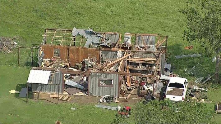 Rio Vista Storm Damage From Chopper 5