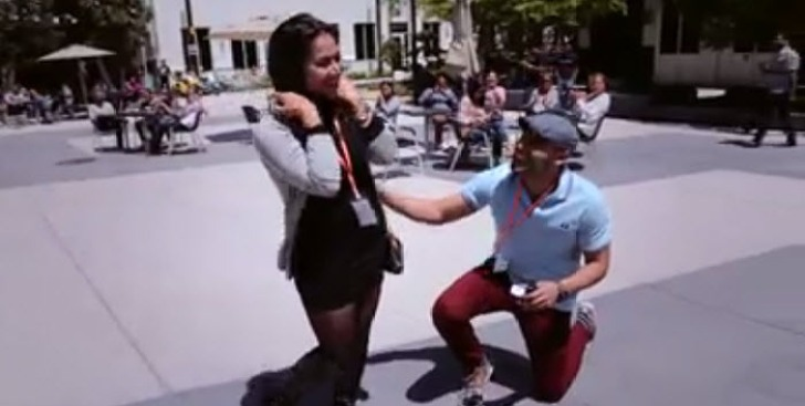Toronto Couple Gets Engaged at Facebook Headquarters