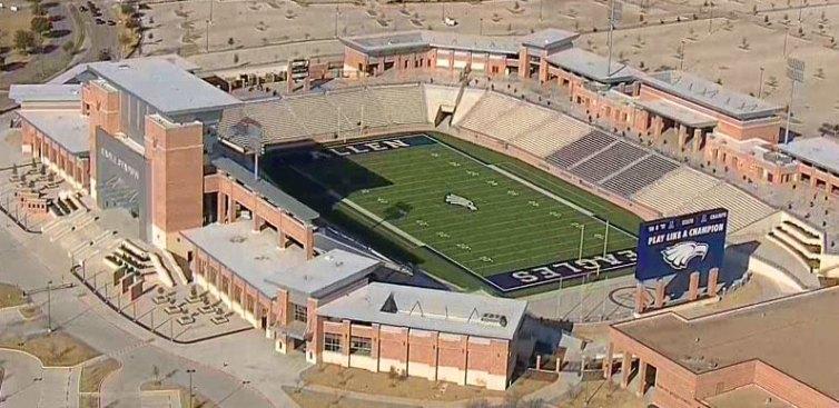 allen high school stadium shut down over structural